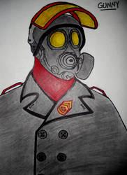 ROMAC OC: Gunny by Pendragon-007