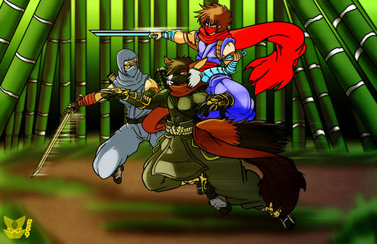 [Com] Ninja Battle of Fate by Anthonylix09