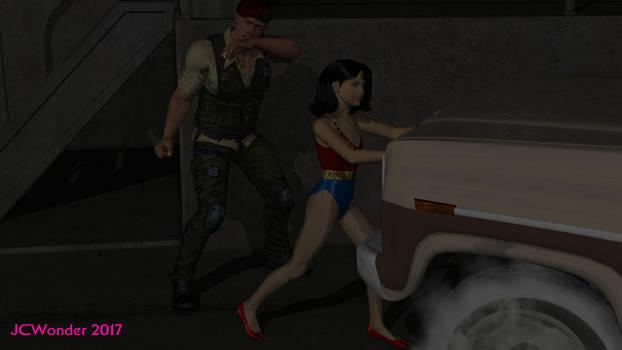 Wondergirl salva mercenario by jcwonder