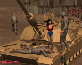 Wonder Girl es superior by jcwonder