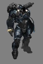 Heavy Armour 2.0 by JustinAAdams