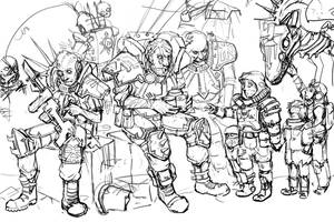 Refugees WIP by TD-Vice