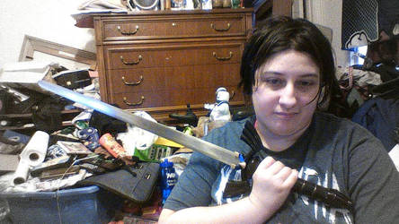 Dark Link's Master Sword by soraissupercute