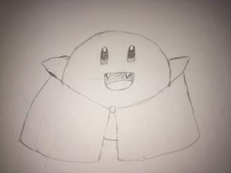 Vampire Kirby by soraissupercute