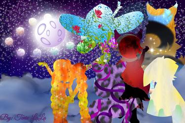 Fantasy.... by GamerGirlNinten-SEGA