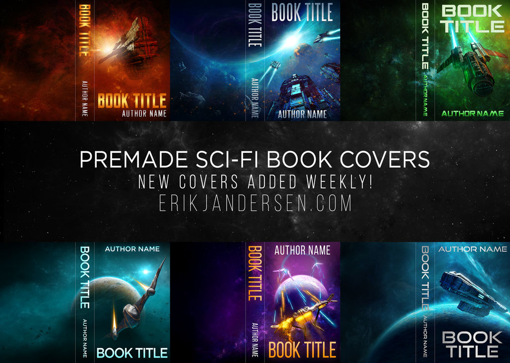 Premade Sci-fi Covers Now on Sale! by Bob-the-Magic-Hobo