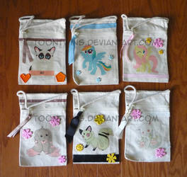 Got Canvas Bags 4 - Animal Mascot Bags by ToonTwins