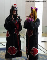 Akatsuki Halloween 2014 by ToonTwins