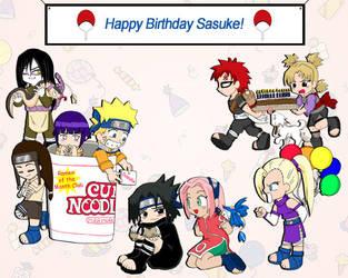Sasuke's Birthday by ToonTwins
