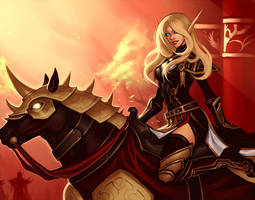Commission: Paladin by Altana