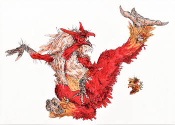Blaziken by Acousticletters