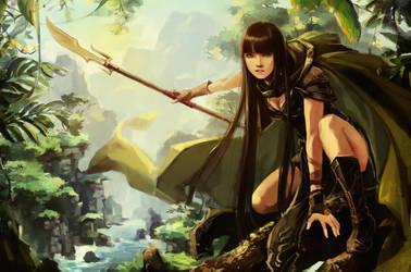Huntress by chibi-oneechan