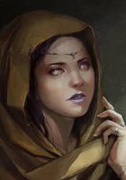 Daughter of Evening by chibi-oneechan