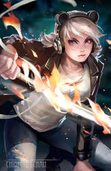 Commission: Pandora by chibi-oneechan