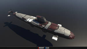 Project 33-class Fast Attack Submarine by Helge129