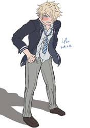 High School Delinquent by yueyuetan