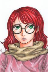 Glasses by yueyuetan