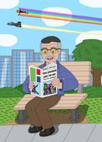 Stan Lee by MCsaurus