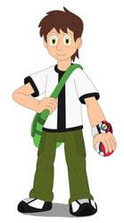 Ben Tennyson the Pokemon Trainer by MCsaurus