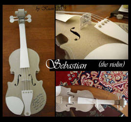Sebastian the Violin by kriskuna