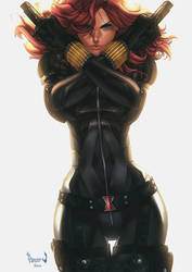 Black Widow by PnzrK