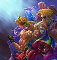 Street Fighter V DLCs by PnzrK