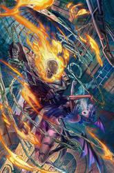 Marvel VS Capcom Infinite Variant cover by PnzrK
