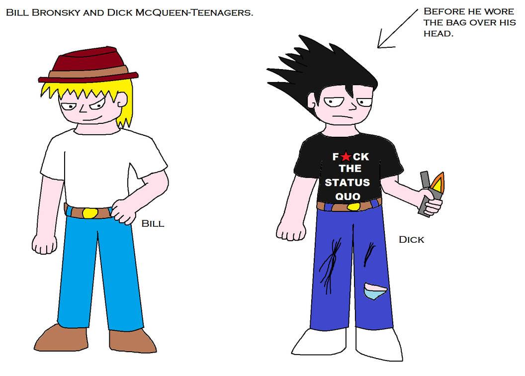 Teenagers dick