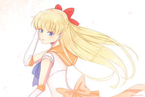 Sailor Venus by maanneee
