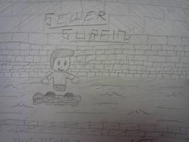 Sewer Surfin'! by VioletLinked