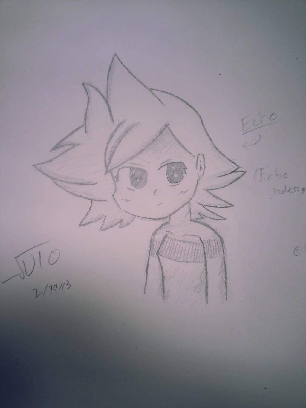 Echo (Original Character) by VioletLinked