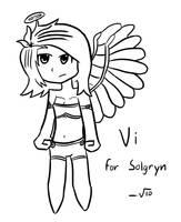 Vi (From Wings of Vi) by VioletLinked