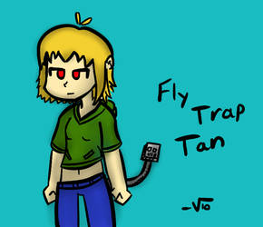 FlyTrap-Tan by VioletLinked