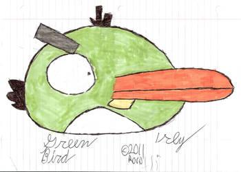 The Green Bird by 1rockbandguy