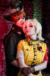 HELLSING Ultimate - PxS by Harusame-chan
