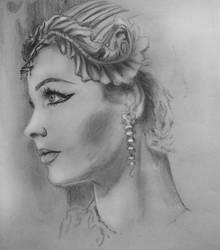 Cleopatra by Sweetrosali