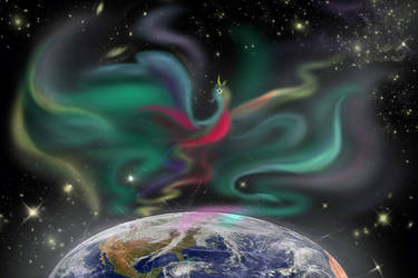 Aurora Borealis by Sweetrosali
