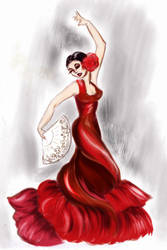 Flamenco by Sweetrosali