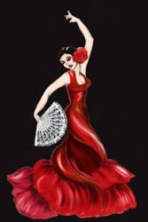 Flamenco 2 by Sweetrosali