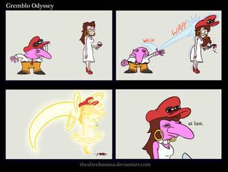 Gremblo Odyssey by TheAlienBanana