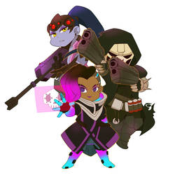 The Talon Trio by Fruitloop-chan