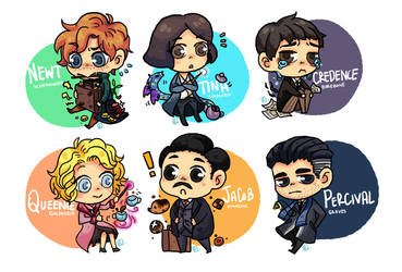 Mini Fantastic Beasts Character by Ruriing