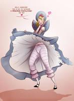 Princess Pantaloons' flashing by TheFetishism