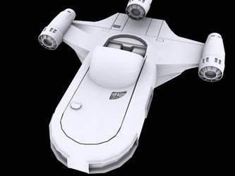 Luke's Speeder - Star Wars by ragadorn