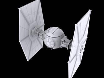 Tie Fighter 3D Model by ragadorn