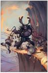 Mountain Rage by tim-mcburnie
