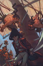 Pirate Cover by tim-mcburnie