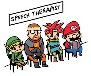Speech Therapist by kidsrsmelly
