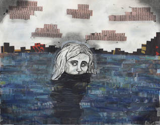 Sinking by crossed-fingers