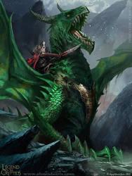 Diegodealmeida-dragon-knight-of-darkness by Diegodealmeida